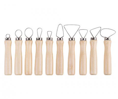 Pottery Ribbon Loop Tools 10's