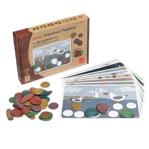 Eco Junior Rainbow Pebbles 36 Set