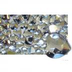 Rhinestone Heart Shape Silver