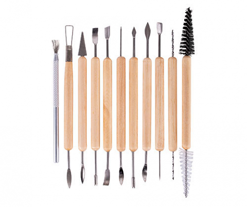 Clay Modelling Clean Up Tool Kit 11's