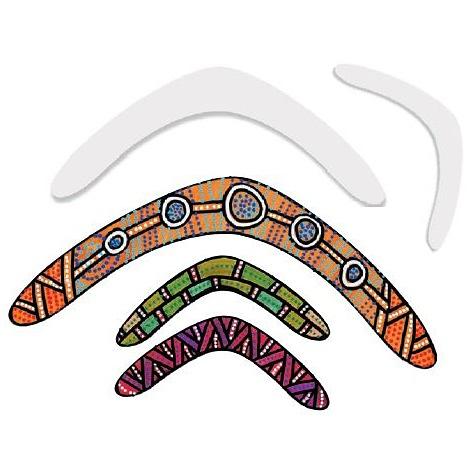 Cardboard Boomerangs