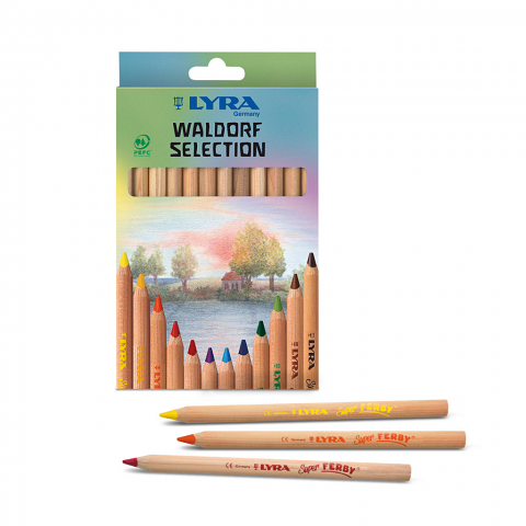 Lyra Super Ferby Nature Waldorf Selection 12pack
