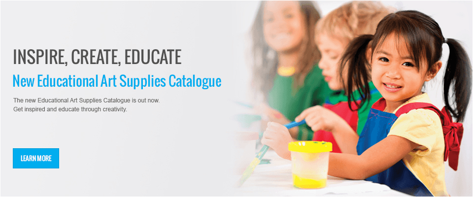 The new Educational Art Supplies Catalogue is out now.