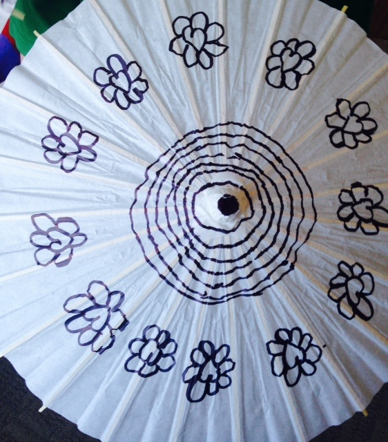 Decorating Parasols